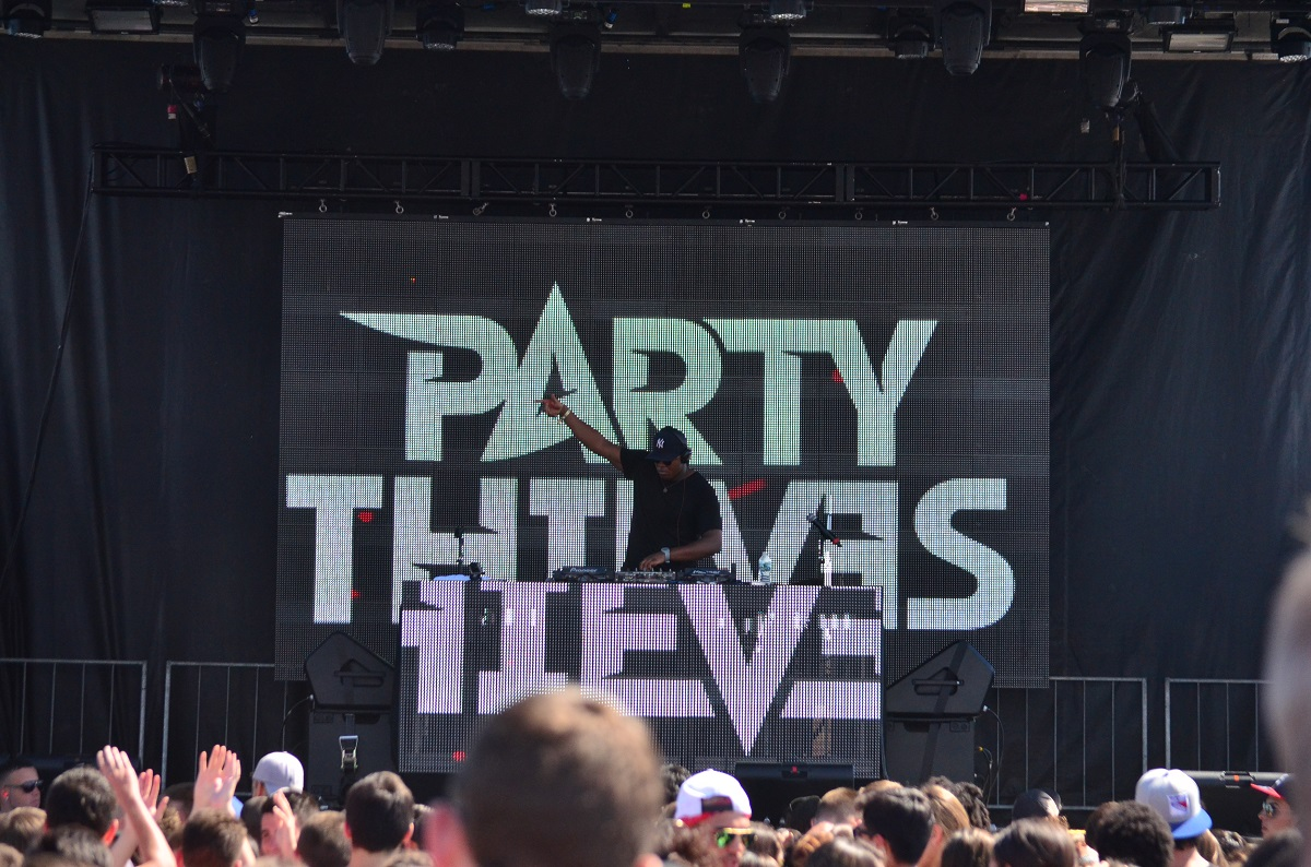 Party Thieves at Billboard Hot 100 Music Festival 2015