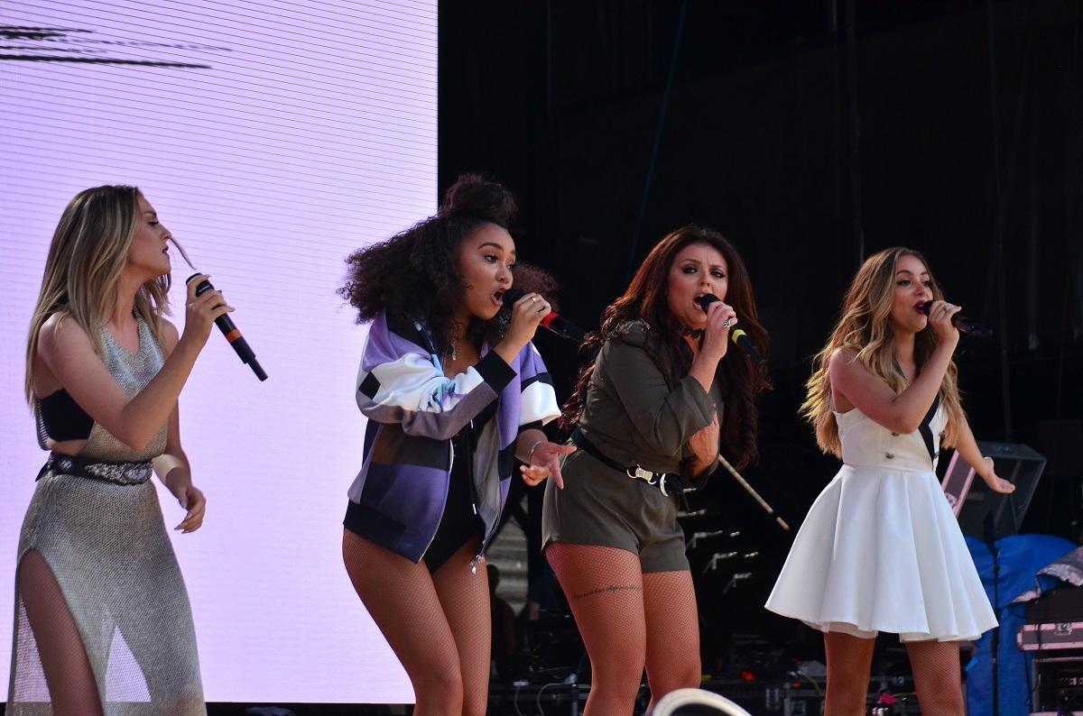 Little Mix at Billboard Hot 100 Music Festival 2015