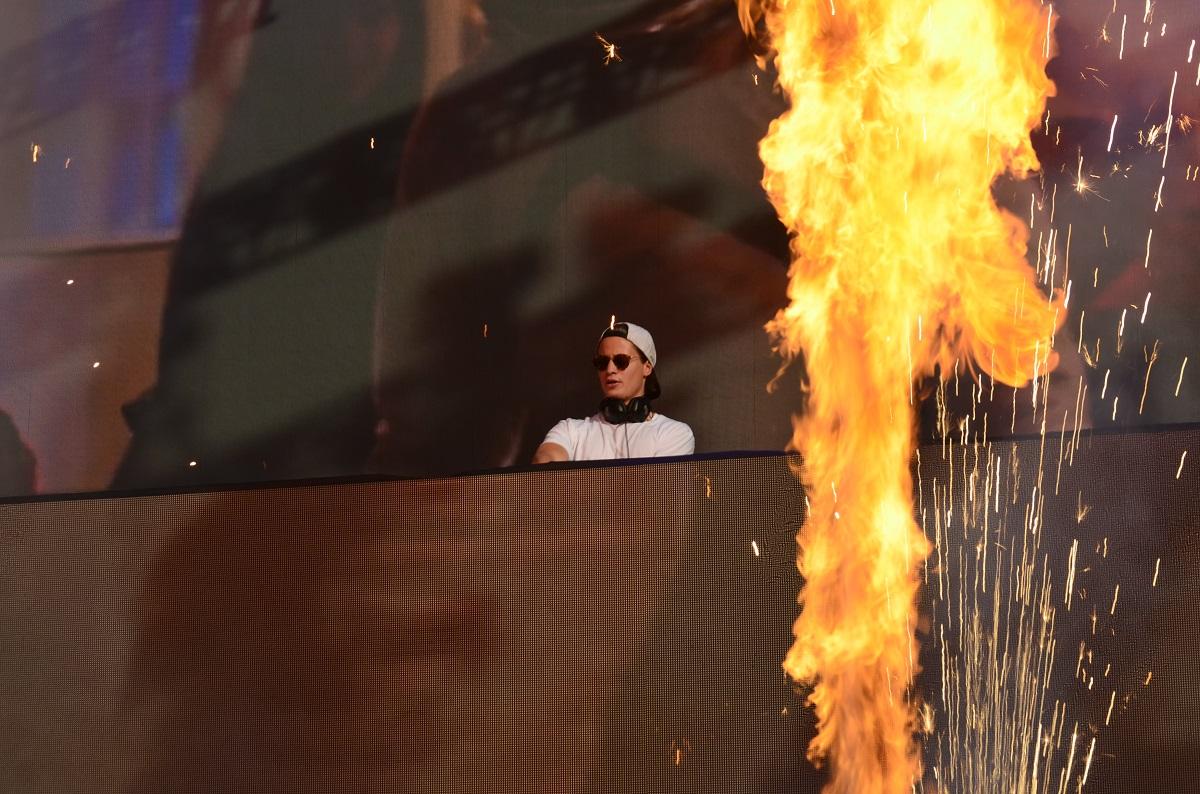 Kygo at Billboard Hot 100 Music Festival 2015
