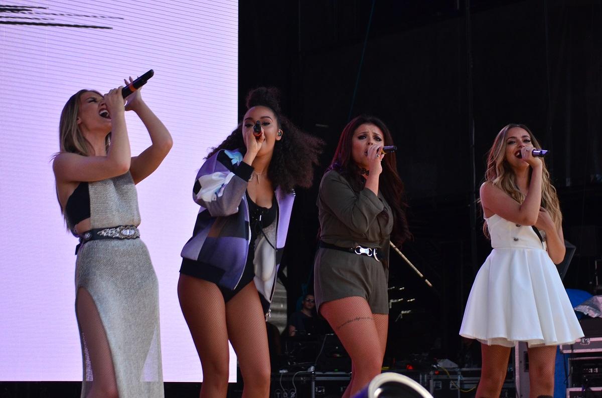 Little Mix at Billboard Hot 100 Festival 2015