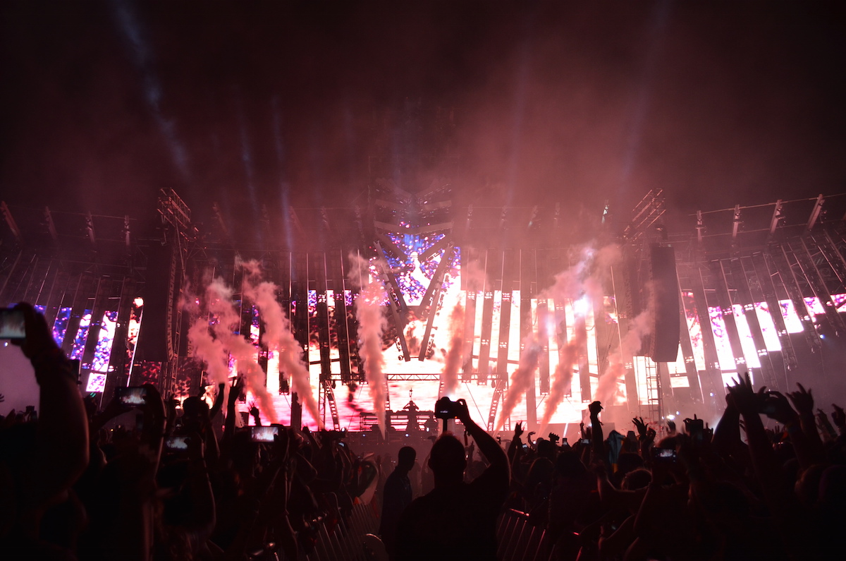 Alesso Electric Zoo 2015