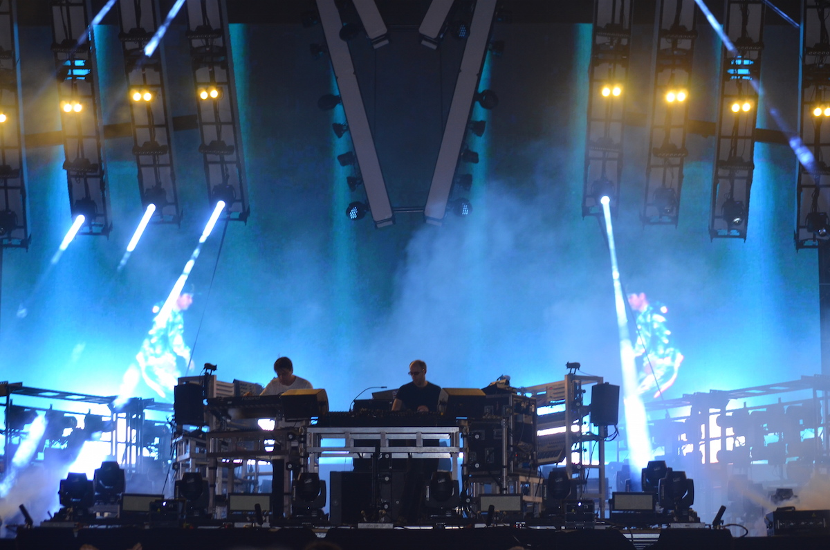 The Chemical Brothers at Electric Zoo 2015