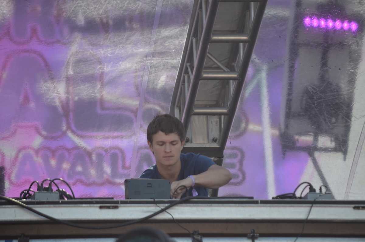 Ansolo at Electric Zoo 2015