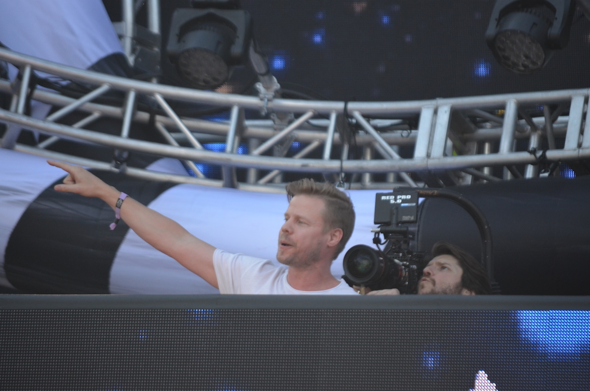 Ferry Corsten at Electric Zoo 2015