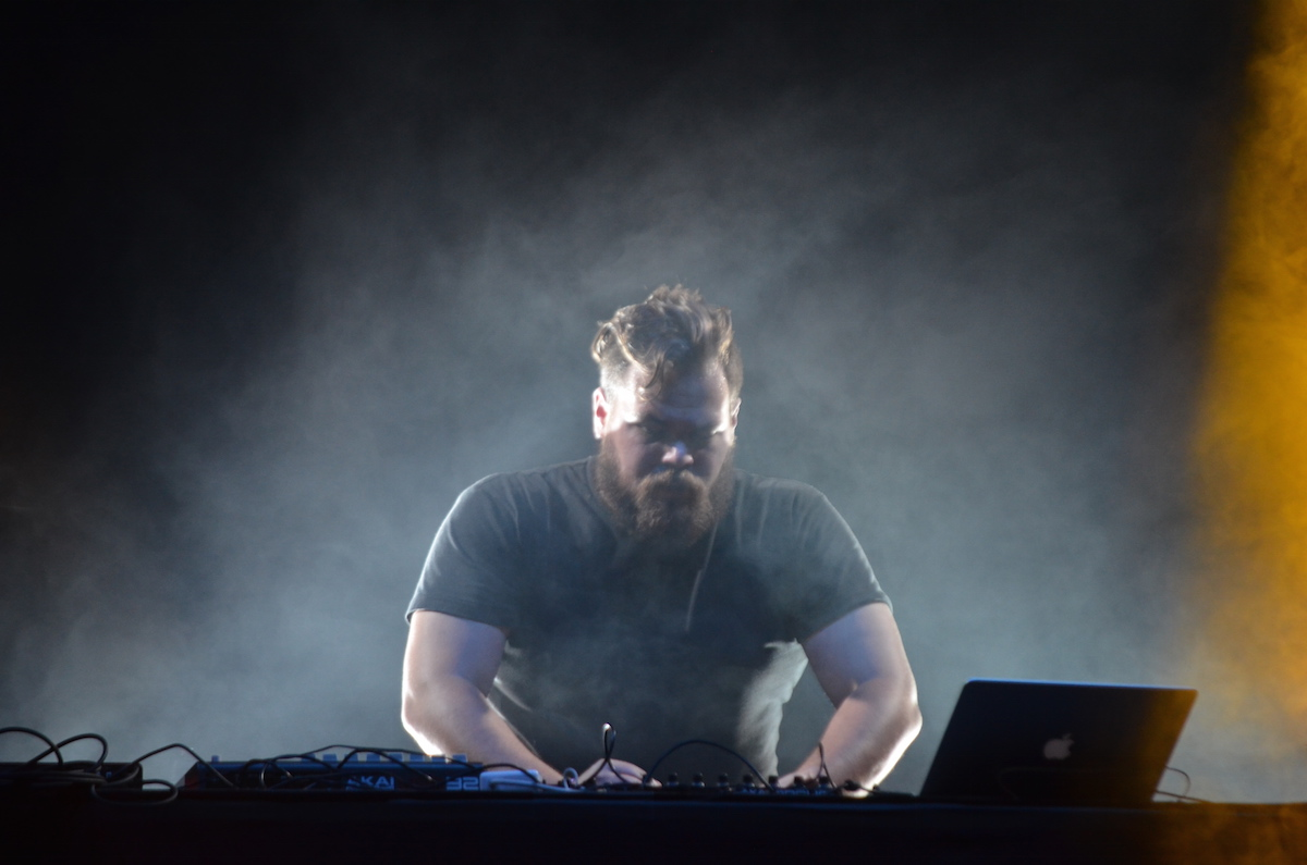 Com Truise at Electric Zoo 2015