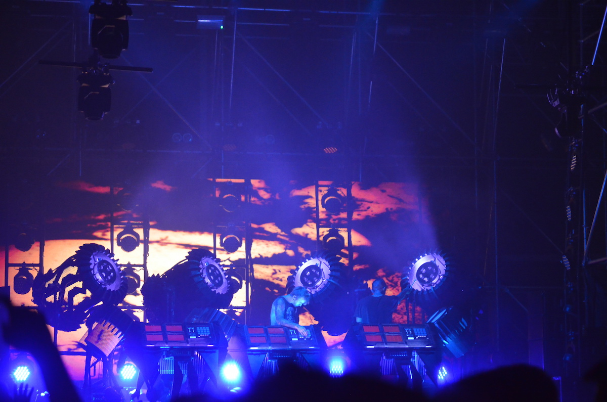The Glitch Mob at Electric Zoo 2015