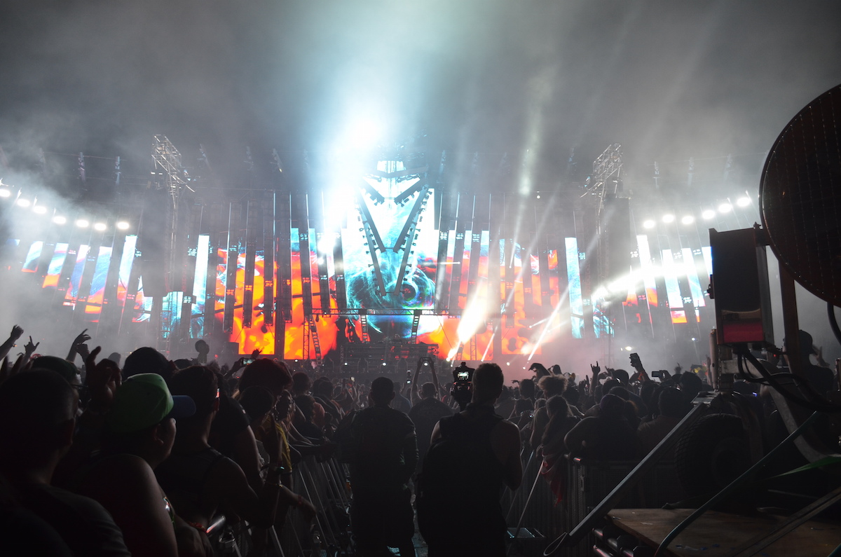 Alesso at Electric Zoo 2015