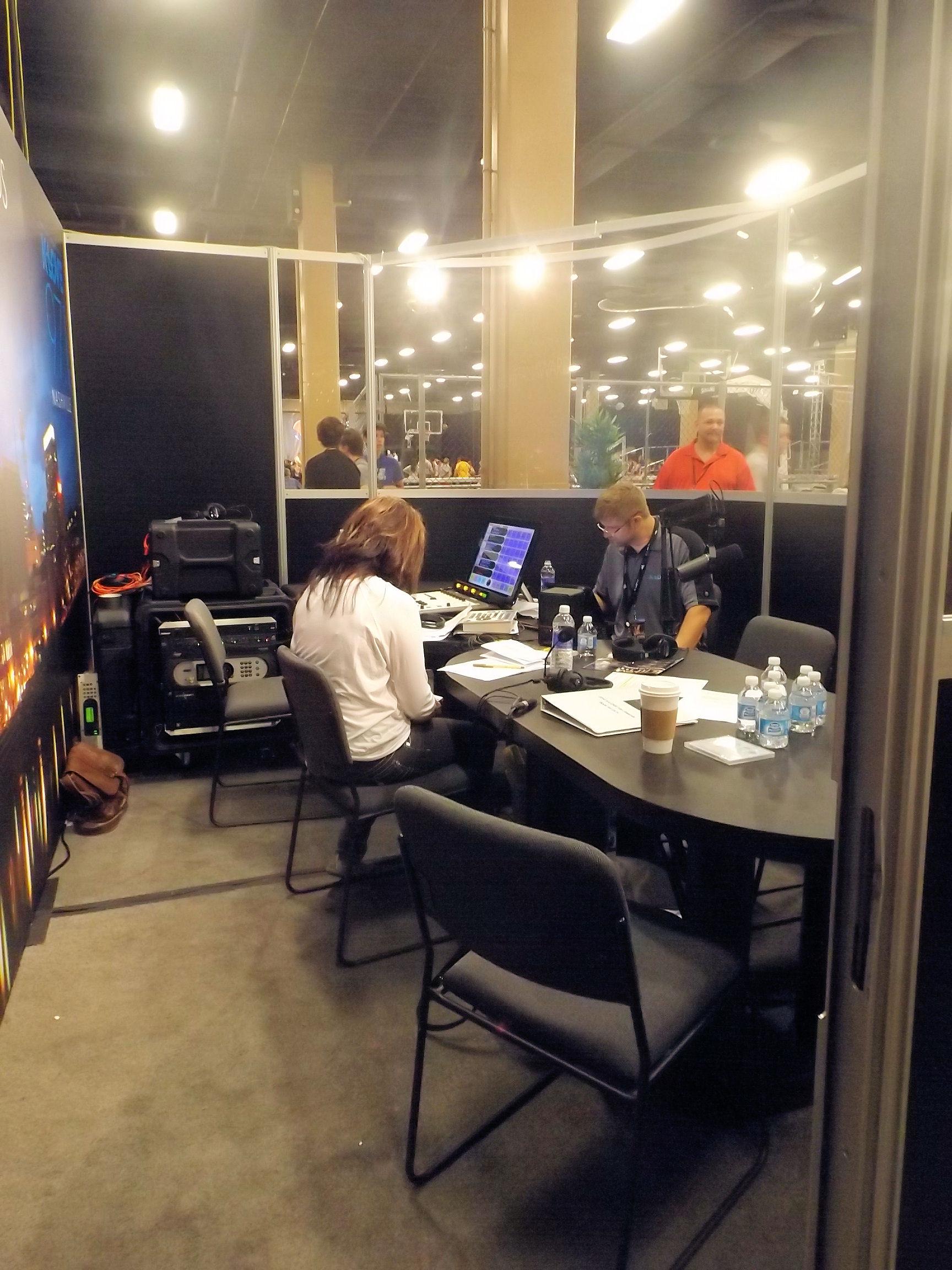 K-LOVE 2014 Fan Weekend Broadcast Booth