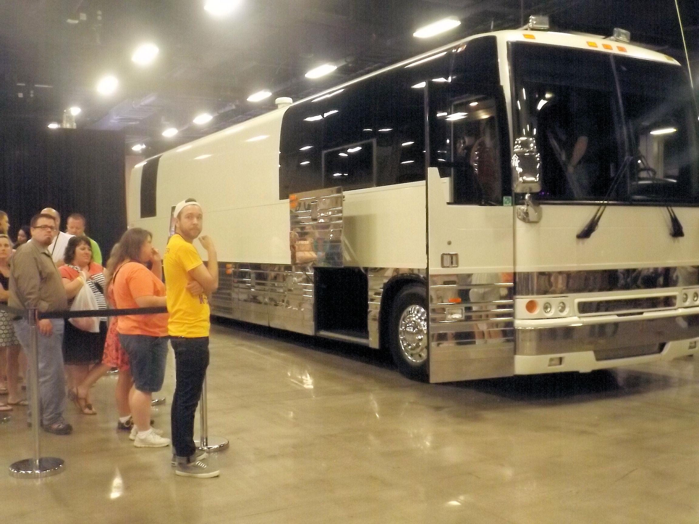K-LOVE 2014 Fan Weekend Tour Bus