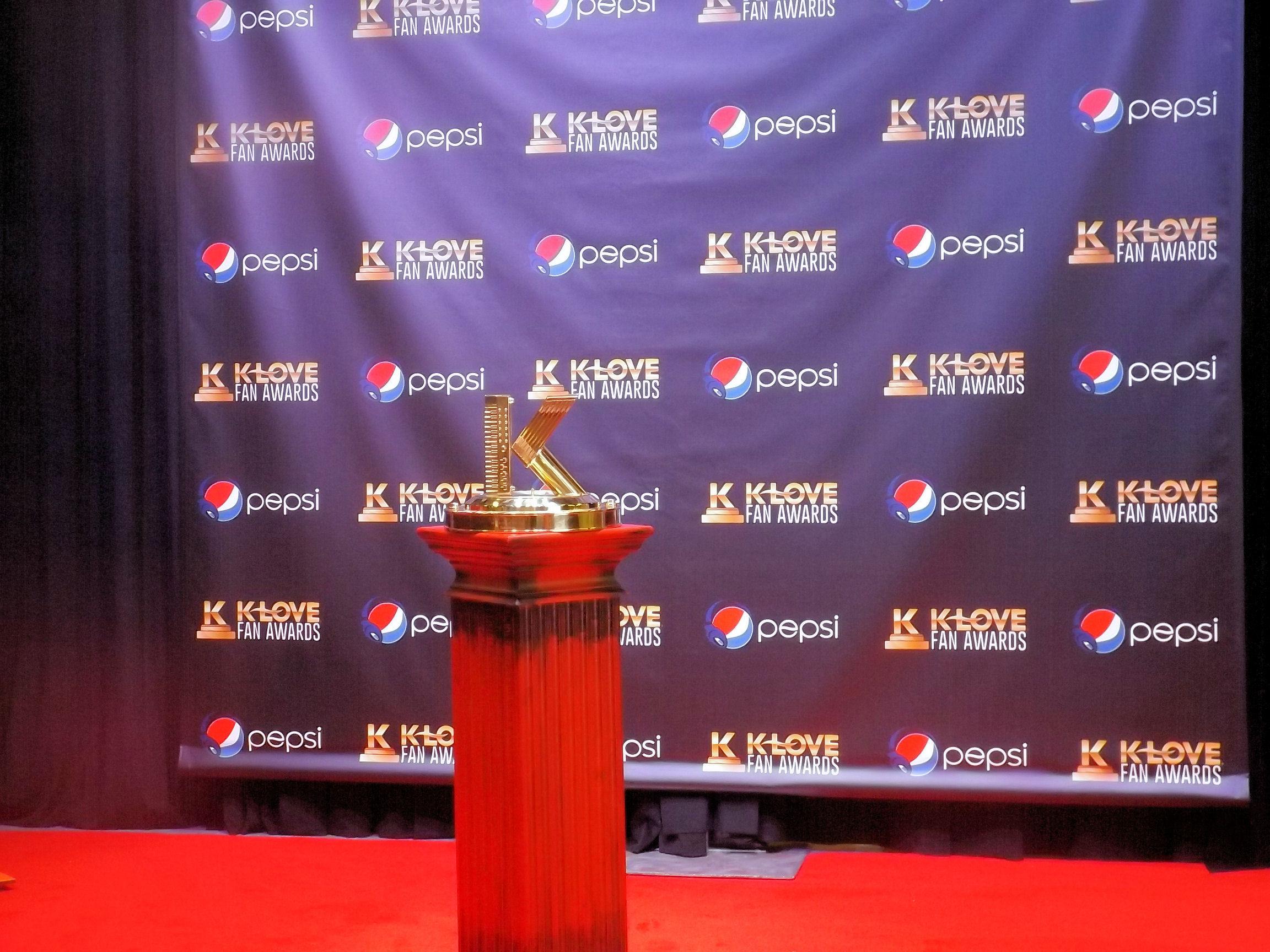 K-LOVE 2014 Fan Weekend Trophy
