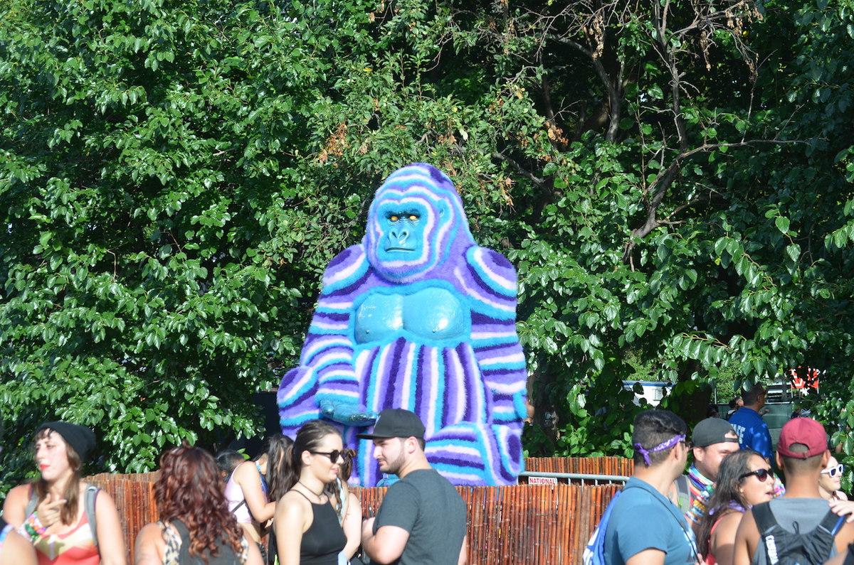 Electric Zoo 2016 Harambe