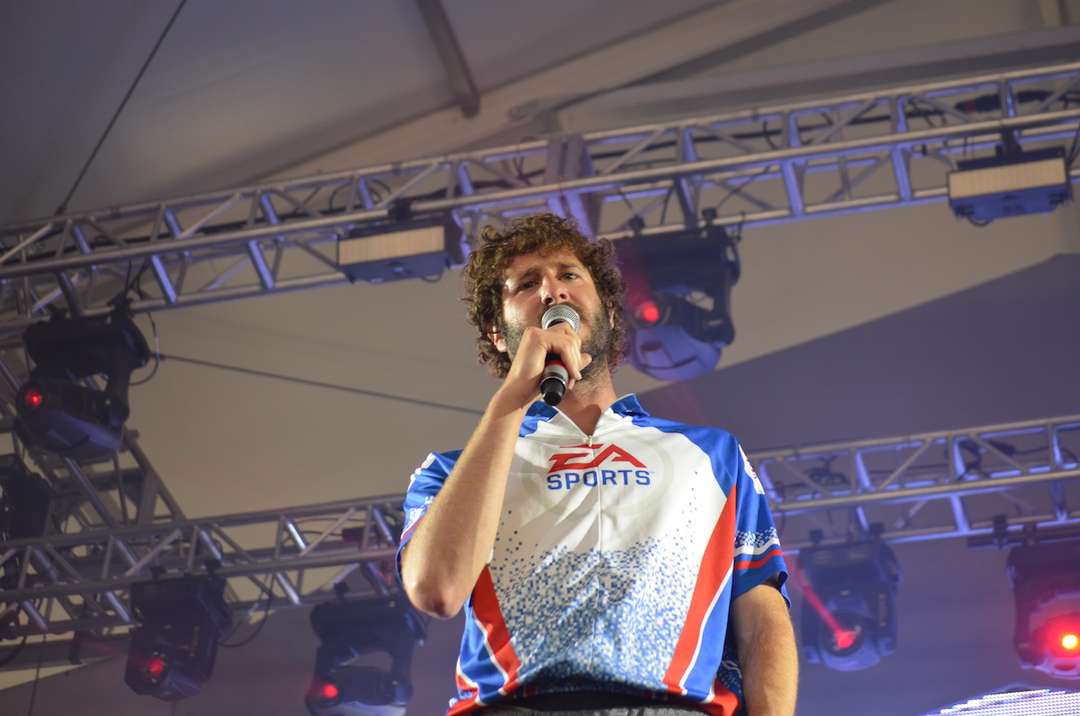 Lil Dicky Electric Zoo 2016
