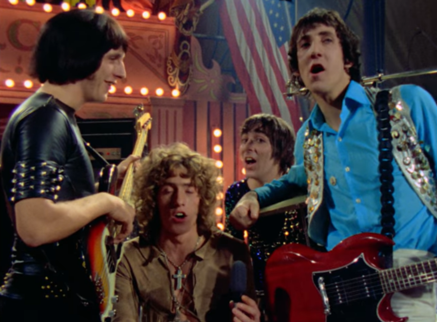 The Who performed live at The Rolling Stones Rock And Roll Circus in December 1968