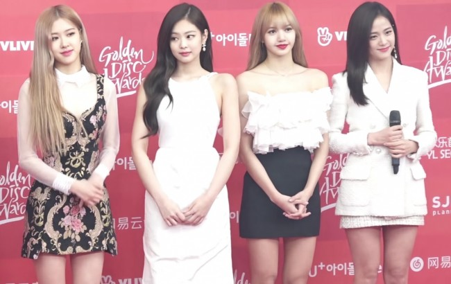 Blackpink at Golden Disc Awards, Korea 2019