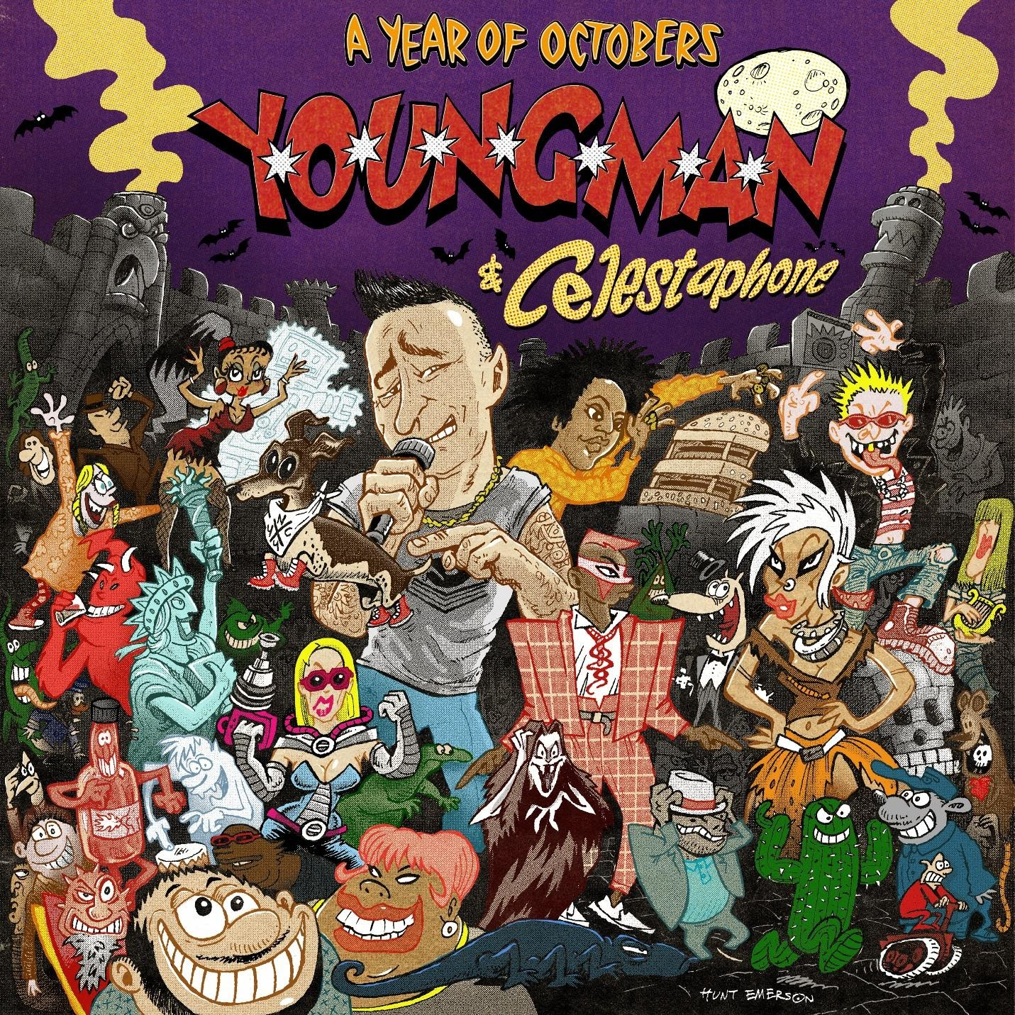 YOUNGMAN and Celestaphone's Groundbreaking Album, A YEAR OF OCTOBERS, Has Landed