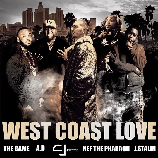 """C.J. Green Sets The Tone By Charting Top 10 on iTunes With Latest Ep """"West Coast Love"""""""