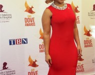 2014 Dove Awards Red Carpet - Erica Campbell