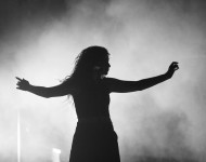 Lorde performs at The Greek Theatre.