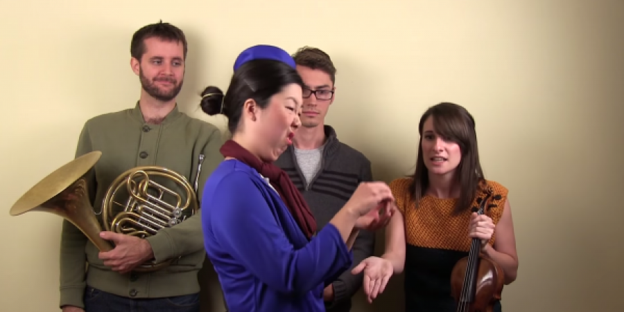 New YouTube 'Musical Experts' Clip Nails Air Canada on Strict and Arbitrary Limitations of Instruments