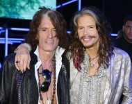 Aerosmith's Joe Perry and Steven Tyler