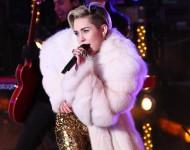 Miley Cyrus last year