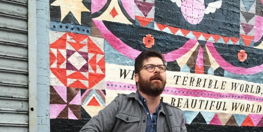 Colin Meloy performs in Williamsburg, Brooklyn