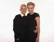 Ellen DeGeneres and Portia de Rossi - Getty Images