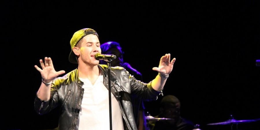 Nick Jonas performs at The Music Hall of Williamsburg on Nov. 5, 2014