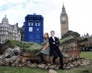Jenna Coleman and Peter Capaldi - Getty Images