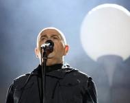 Peter Gabriel performing in Berlin