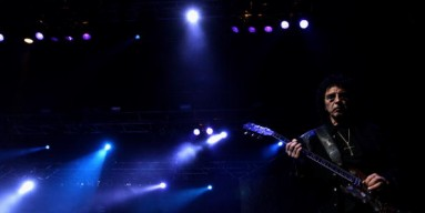 Tony Iommi of Black Sabbath lost his finger tips...and not just because it was dark.