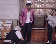 Bruno Mars and Mark Ronson in