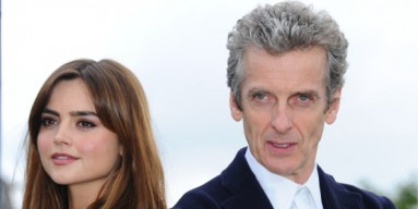 Jena Coleman and Peter Capaldi - Getty Images