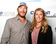 Bode Miller and Morgan Beck - Getty Images