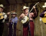 Ralph Stanley (center)