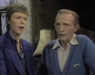 David Bowie and Bing Crosby
