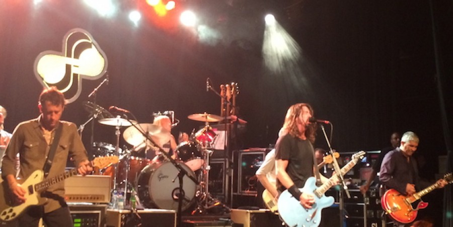 Foo Fighters perform at irving Plaza