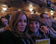 Melissa Rivers and son Cooper - Twitter