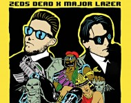 Zeds Dead (they're the guys in suits)