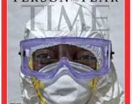 The Ebola Fighters - Time Cover