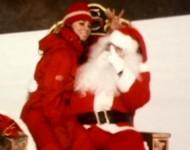 Mariah and Santa