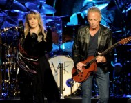 Lindsey Buckingham and Stevie Nicks of Fleetwood Mac