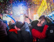 New Year's Eve at Time Square.