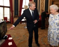 Prince Andrew and Queen Elizabeth ll - Getty Images