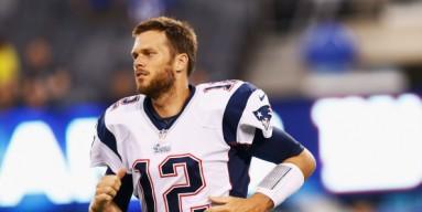 New England Quarterback and noted former MTV VJ Tom Brady