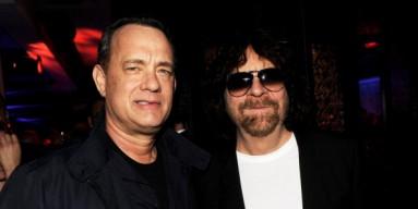 Jeff Lynne and lesser star Tom Hanks.