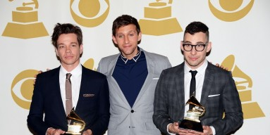 fun. at the 2013 Grammys