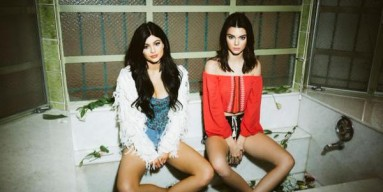 Kylie and Kendall Jenner - Twitter
