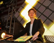 Madeon perfomrs at Kairos Society Global Summit Day 2 - After Party at New York Stock Exchange