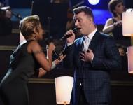 Sam Smith & Mary J. Blige Perform